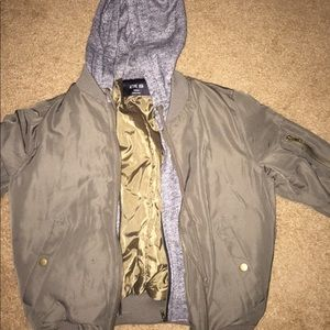 Double layered forever 21 bomber jacket